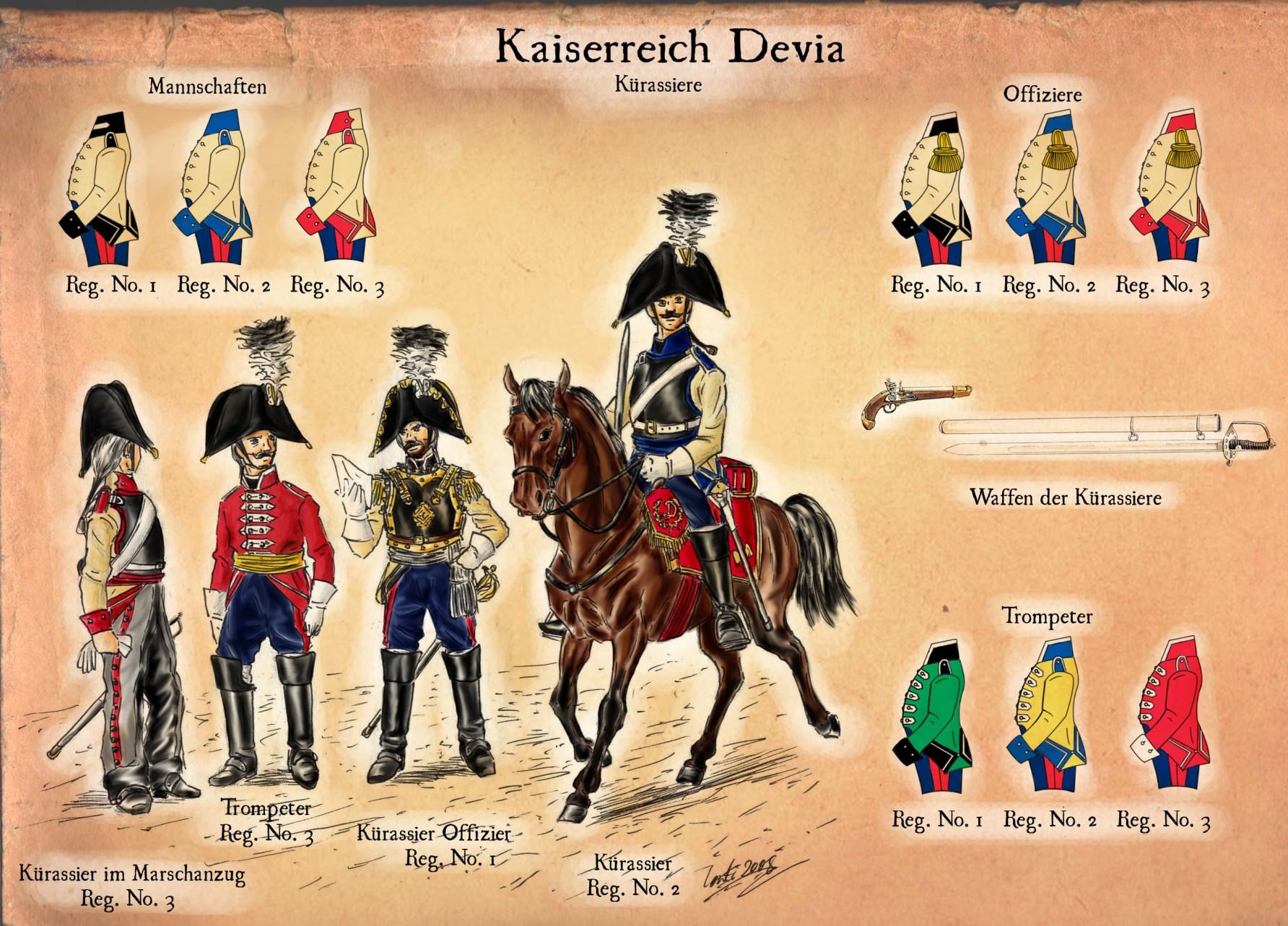 Devian Cuirassiers by Kaiser-Conti