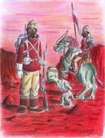 Britannia rule the space by Kaiser-Conti
