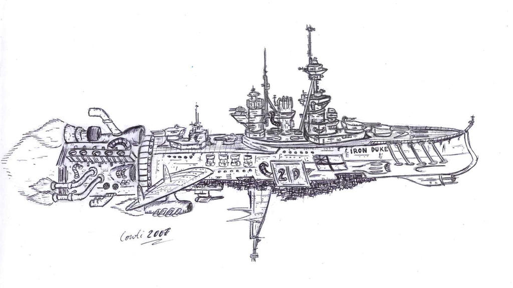 HMS Iron Duke battlecruiser by Kaiser-Conti