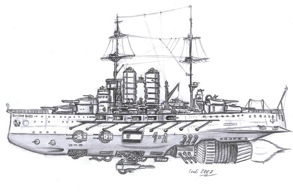 SMS Viribus Unitis by Kaiser-Conti