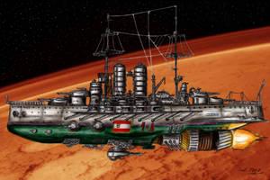 SMS Viribus Unitis coloured by Kaiser-Conti