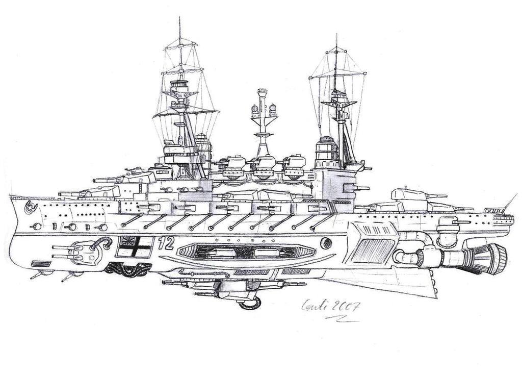 HMS Agincourt by Kaiser-Conti