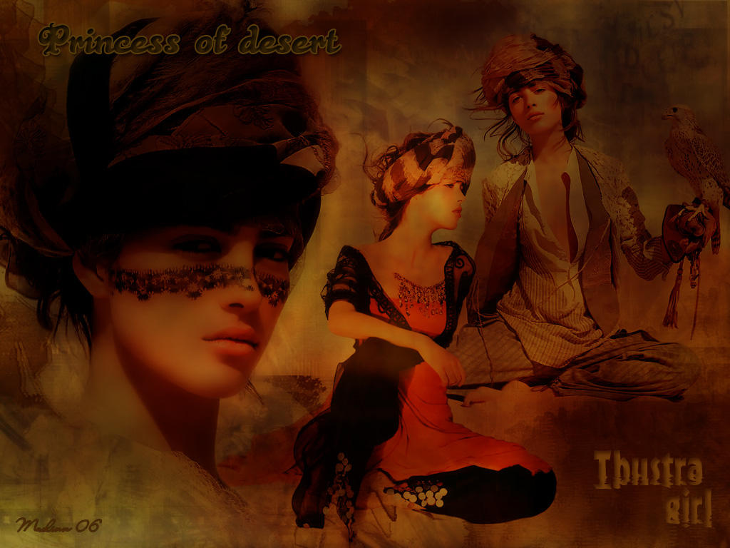 Princess of desert by Maelinn by maelinn