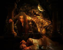 The vampire by maelinn