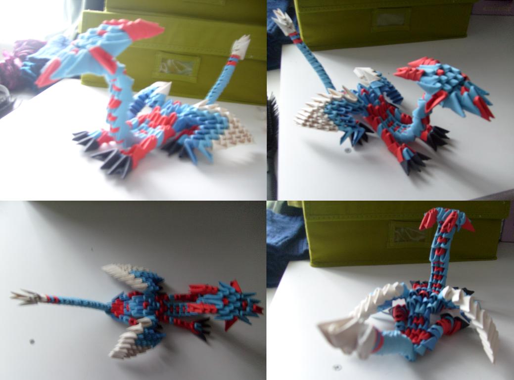 Modular Origami Dragon By SouloftheSky