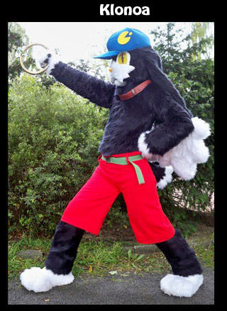 Klonoa Cosplay Fursuit for sale - LAST CHANCE! by Sethaa