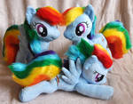 New Rainbow Dashs (5, 6, 7)