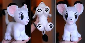 Kimba (Leo) the white lion plush (for Sale)