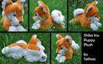 Shiba Inu Puppy Plush