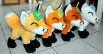 Leaf foxes for all seasons are finished!