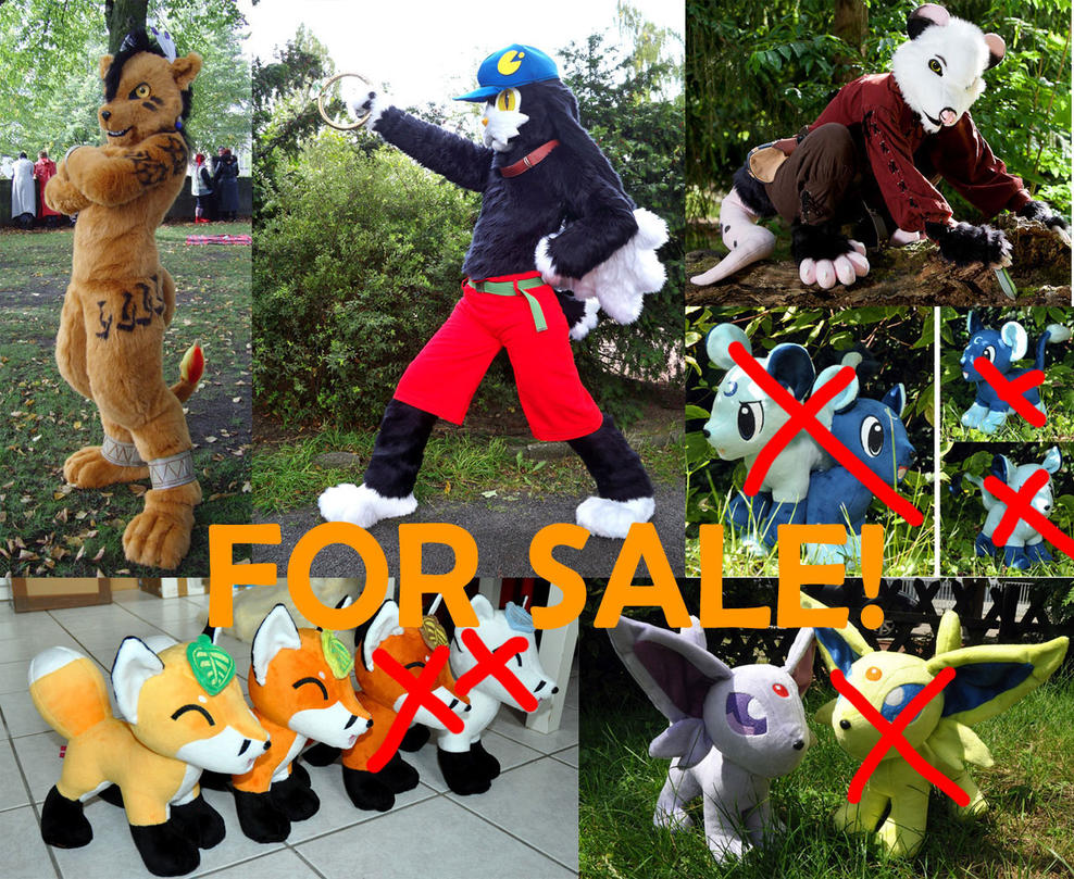 Fursuits and Plushies for sale by Sethaa