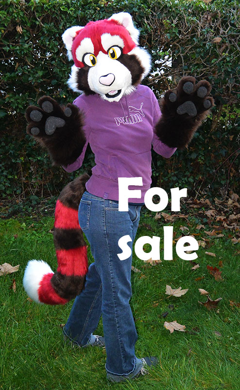 Red Panda Partial for sale! SOLD by Sethaa