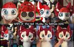 WIP Kemono red Husky