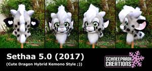 Sethaa 5.0 Kemono Head finished