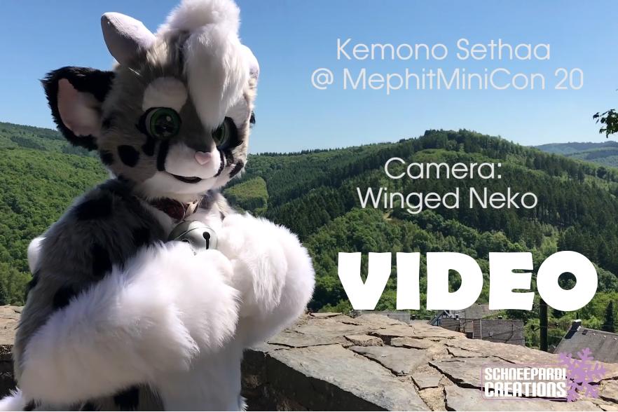 VIDEO of my new kemono-styled fursuit Sethaa 5.0 by Sethaa