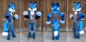sethaa Premade Blue Fox Partial SOLD