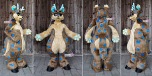 Lucus - Kemono Fox Deer Fullsuit #1