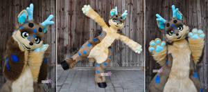 Lucus - Kemono Fox Deer Fullsuit #2
