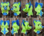 Greensy - Toony Wolf Head