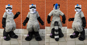 Stigges - Toony Raccoon Fullsuit