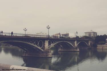 Triana's Bridge by Lynx-Pardina