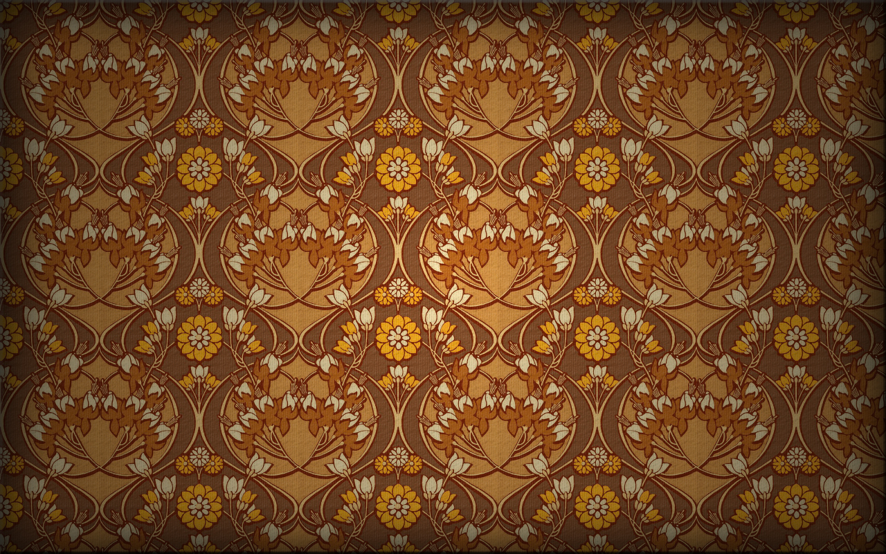 "wallpaper ""blumenranke"" by elpanco"