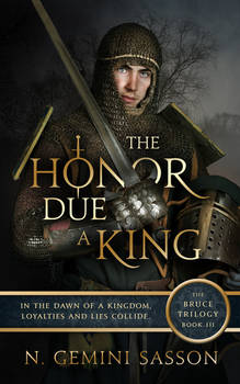 Book Cover Design - The Honor Due A King