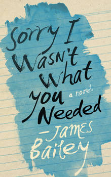 Cover Design for Sorry I Wasn't What You Needed