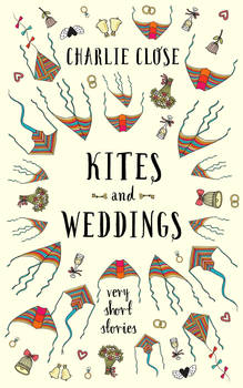 Kites and Weddings book cover design