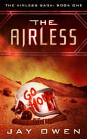 Book Cover Design for The Airless by ebooklaunch