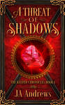 Book Cover Design for A Threat of Shadows