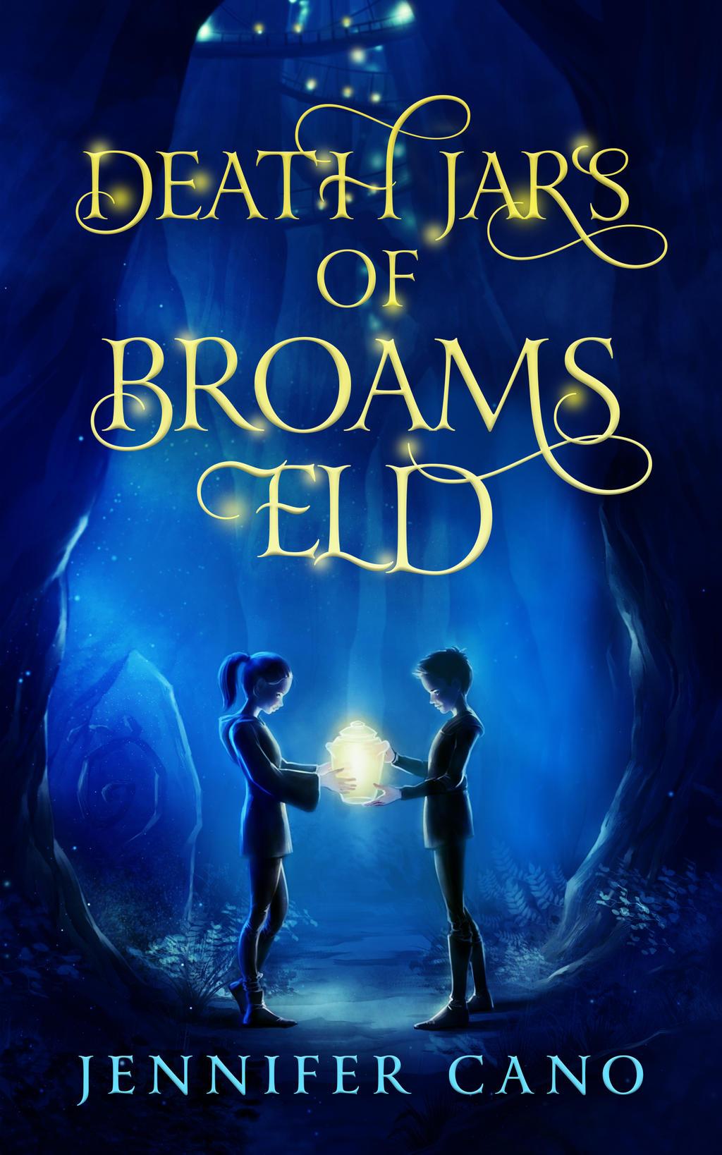 Book Cover Design Deviantart : Book cover design for death jars of broams eld by