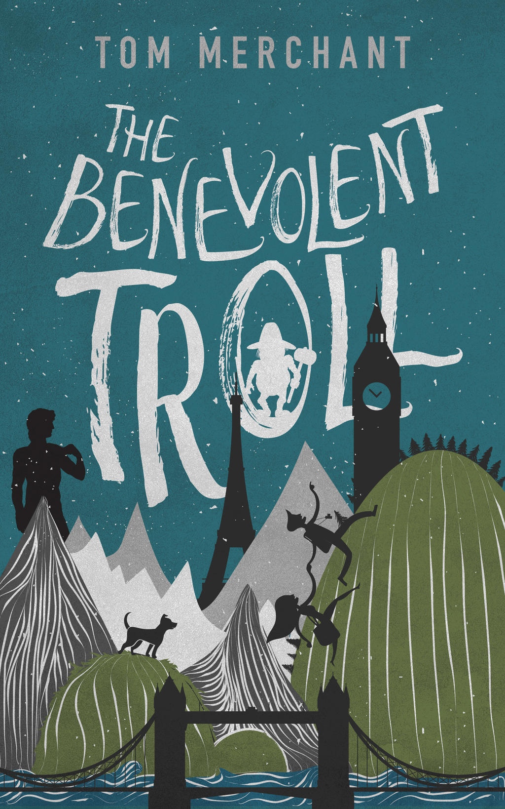 Book Cover Design Deviantart : Book cover design for the benevolent troll by ebooklaunch