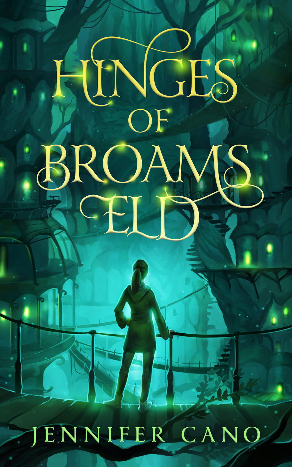 Book Cover Design Deviantart : Book cover design for hinges of broams eld by ebooklaunch