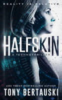 Book Cover Design for Halfskin by ebooklaunch