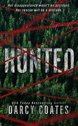 Book Cover Design for Hunted by ebooklaunch
