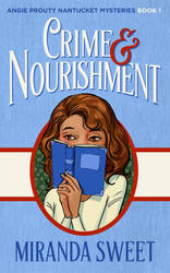 Book Cover Design for Crime and Nourishment by ebooklaunch