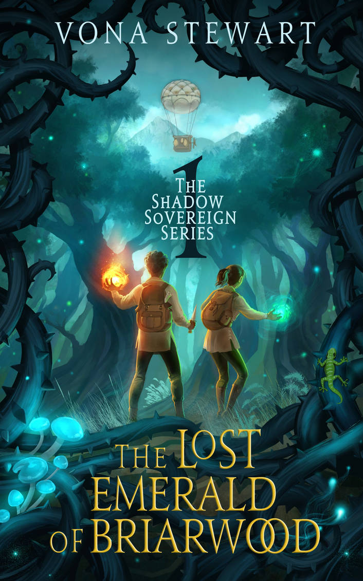The Lost Emerald of Briarwood by ebooklaunch