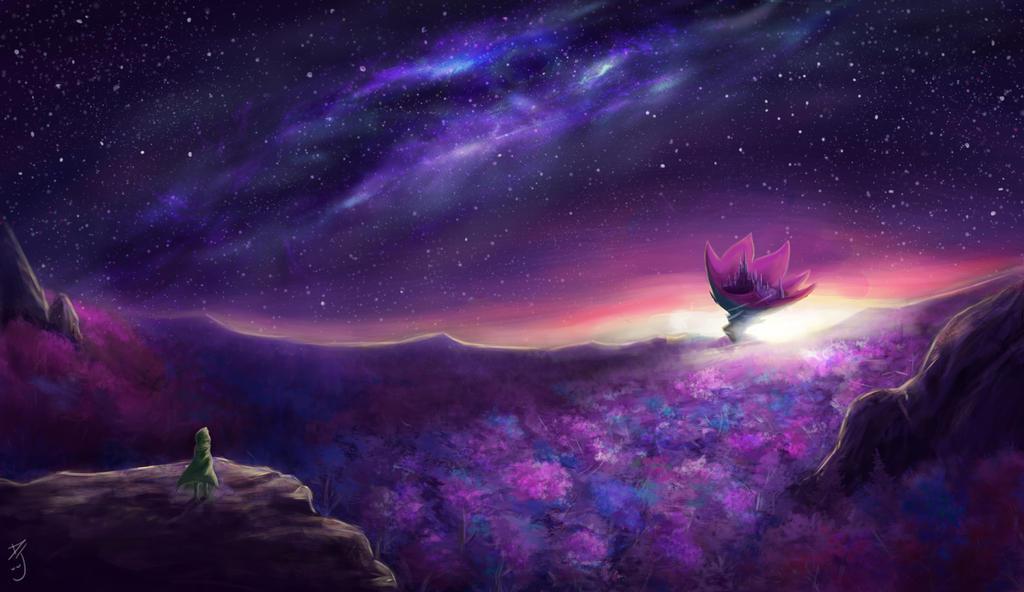 Fantasy landscape by danielju
