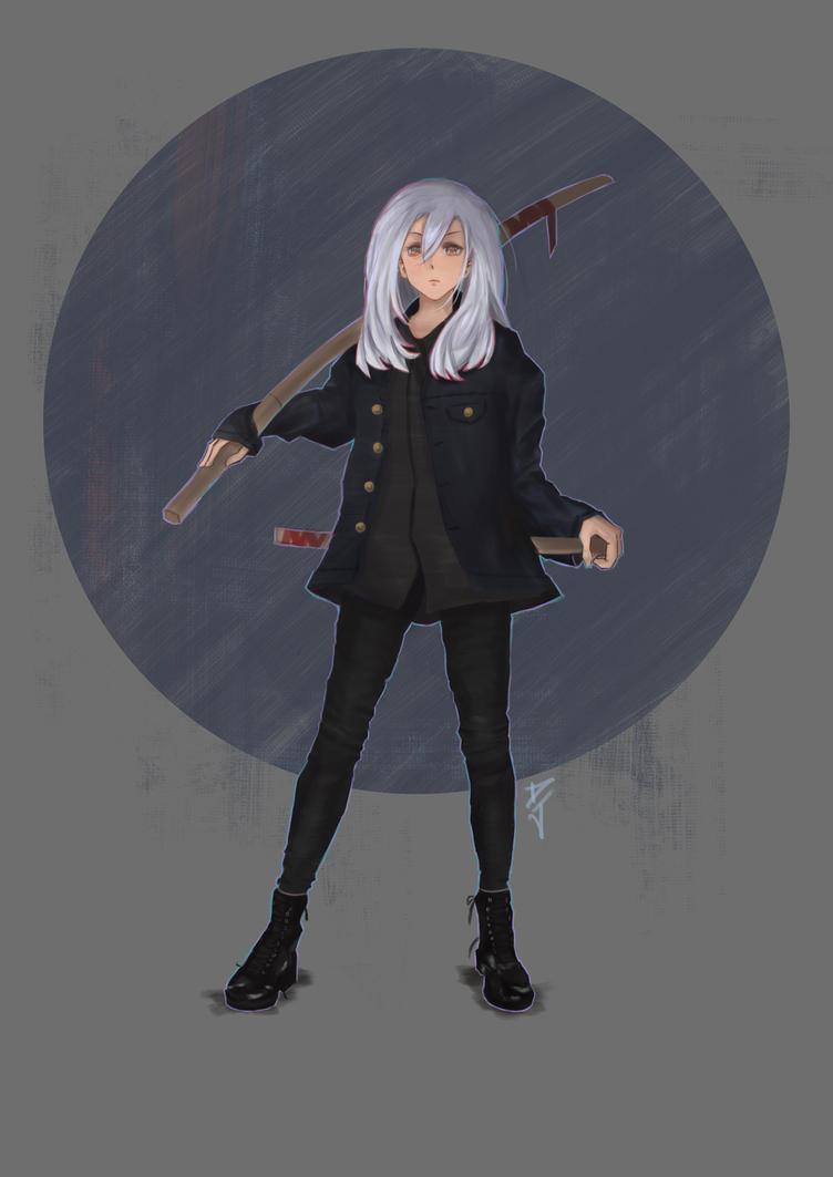 Sword Girl by danielju
