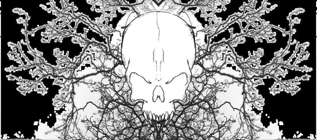Skulltreewhite by Urus-28