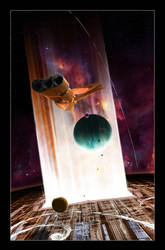 The Dyson sphere by Urus-28