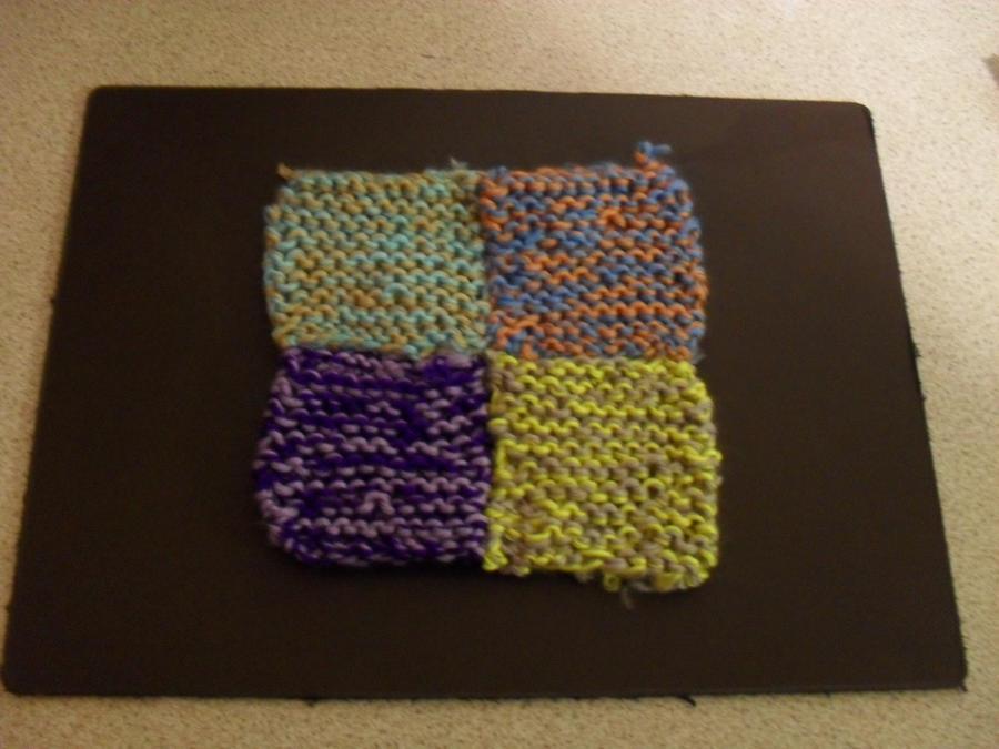 Reddit Knitting Blocking : Knitted blankie wip block by purply bunz on deviantart