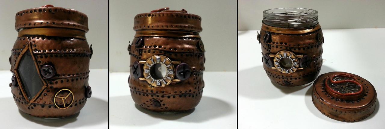 Steampunk Jar