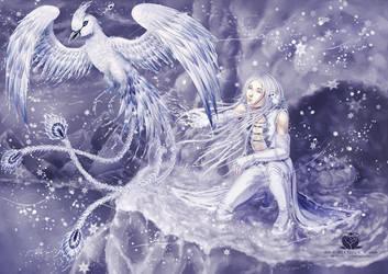 Winter Phoenix by Mystaira