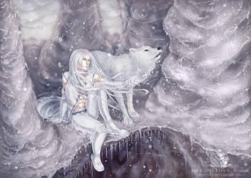 Winter Howl by Mystaira