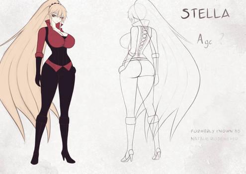 Stella's reference sheet