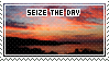 Seize The Day Stamp by RaptureCyner