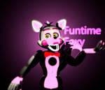 Funtime Foxy C4D Wallpaper