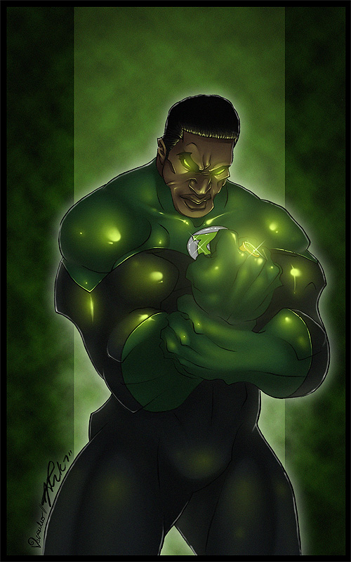 Green Lantern by verauko